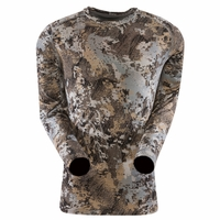 Sitka Gear Merino Core Crew Long Sleeve Shirt Elevated II Camo