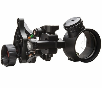 TruGlo Archers Choice Range Rover Pro Power Green Dot 1 Pin Bow Sight