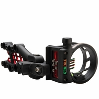 TruGlo Carbon Hybrid 5 Pin Bow Sight Black with Light