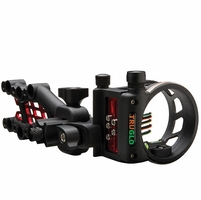 TruGlo Carbon Hybrid 5 Pin Micro Bow Sight Black with Light