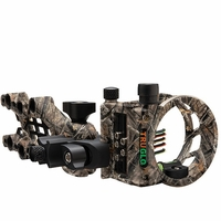 TruGlo Carbon Hybrid 5 Pin Micro Bow Sight Lost Camo with Light