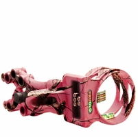 TruGlo Carbon XS Xtreme 5 Pin Bow Sight Pink Camo with Light