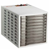 Weston Products Food Dehydrator 10 Tray, Square