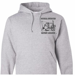 #4030HS - Long-sleeve Hooded Sweatshirt (Ash Gray)