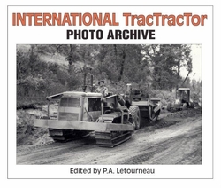 """BACK IN PRINT""  #2557 International TracTractor Photo Archive   ""ON SALE"""
