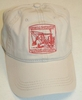 #4043  HCEA Hat - Khaki with Red Logo