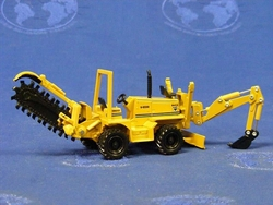 """NEW"" 4036BR Vermeer V8550 Utility Trencher 1:50 Scale (DCP40009)"