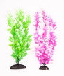 "2-Pack Multi-colored Green/ Pink, Approx. 10"" Plant Decor"