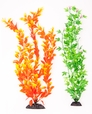 "2-Pack Multi-colored, Orange/ Green, Approx. 15"" Plant Decor"