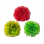 "3"" Ball Red/Dark Green/Light Green, 3pc/Bag"