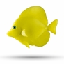 "4"" Yellow Tang D�cor, 1pc"