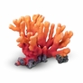 "Aquarium Coral Decor - Orange/Red, 8.9""x7.1""x6.6"""