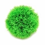 "Big Green Moss Ball w/ Weighted Base 5"" Diameter"