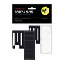 FORZA 5-15 Replacement Filter Inserts with Premium Activated Carbon QTY: 2PCS