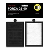 FORZA 25-40 Replacement Filter Inserts with Premium Activated Carbon QTY: 2PCS