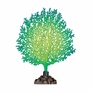 Silicone Coral Branch Decor - Green/Yellow