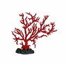 Silicone Coral Branch Decor - Red, 6""