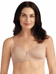 Amoena Lara Nude Molded Cup Pocketed Bra 2674