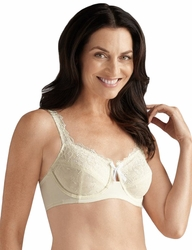 Amoena Marie Soft Cup Pocketed Bra 1272 - Off White
