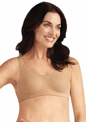 Amoena Mona European Seamless Pocketed Bra - Cognac 2614