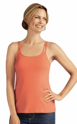 Amoena Valletta Pocketed Camisole Top, Melon