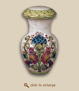 Antico Hand Painted Porcelain Cremation Urn