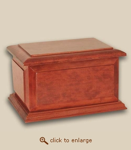 Boston  Companion Wood Cremation Urn
