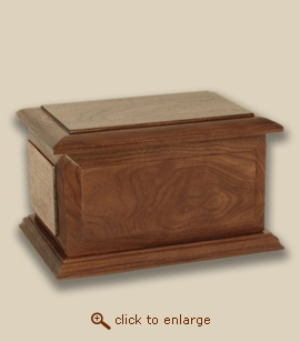 Boston Wood Value Companion Cremation Urn