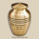 Classic Bronze Cremation Urn Personalized