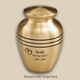 Classic Bronze Pet Cremation Urn Personalized