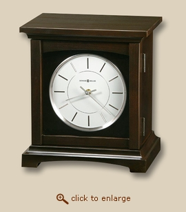 Clock Tribute Mantel Wood Cremation Urn
