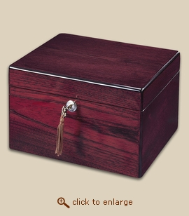 Devotion Chest Wood Cremation Urn - Rosewood