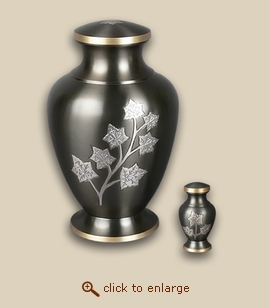 Eaton Leaves Cremation Urn - Large