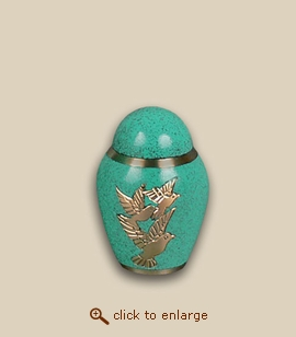 Espirit Doves Cremation Urn - Keepsake