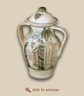 Gateway Hand Painted Porcelain Cremation Urn