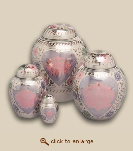 Lotus Cremation Urn - Small