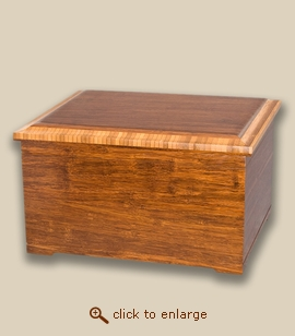 Memorial Bamboo Companion Cremation Urn