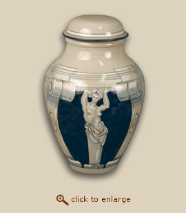 Michelangelo I Hand Painted Porcelain Cremation Urn