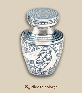 Modern Going Home Cremation Urn - Keepsake