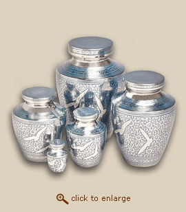 Modern Going Home Cremation Urn - Small