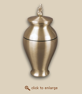 Orion Bronze Vase Cremation Urn