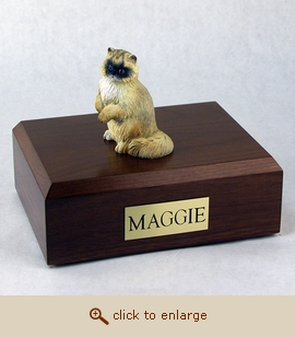 Ragdoll - Cat Figurine Wood Pet Urn