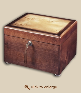 Reflection Chest Wood Cremation Urn - Cherry