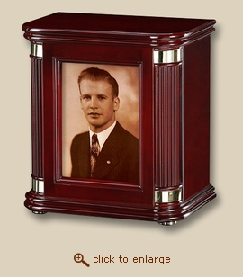 Remembrance Memorial Xlarge Wood Cremation Urn