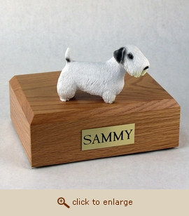 Sealyham Terrier - Dog Figurine Wood Pet Urn