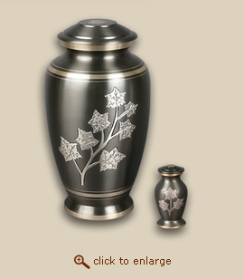 Sierra Leaves Cremation  Urn - Large