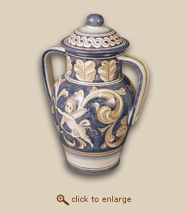 Splendor Hand Painted Porcelain Cremation Urn