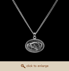 Sterling Silver Pet Cremation Jewelry - Cat Bed