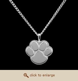 Sterling Silver Pet Cremation Jewelry - Paw Reflections