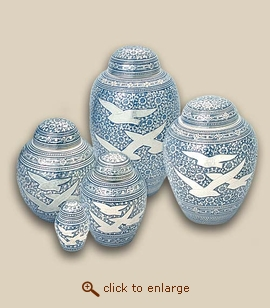 Traditional Going Home Cremation Urn - Petite